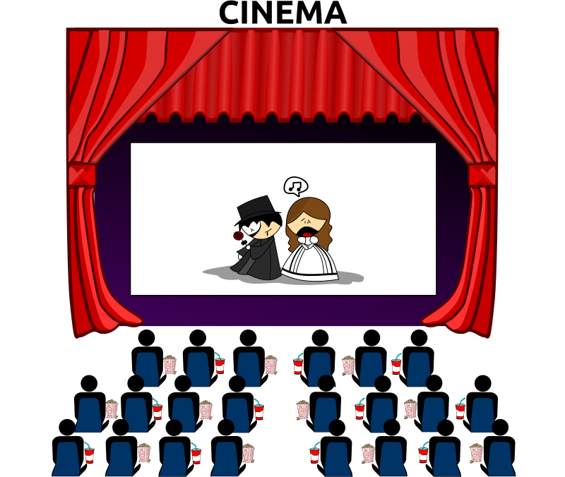 Movie Theater Clipart Images.