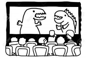 Movie theatre clipart black and white 7 » Clipart Portal.