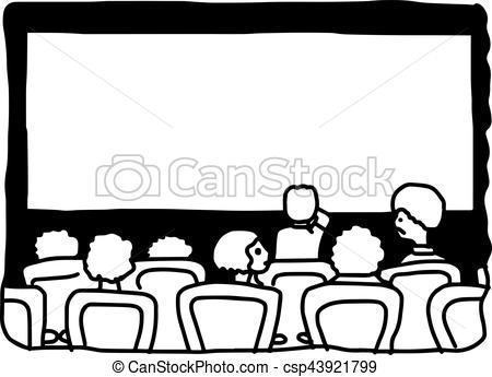 Movie theatre clipart black and white 3 » Clipart Portal.