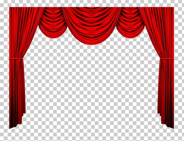 Window Treatment Theater Drapes And Stage Curtains PNG.
