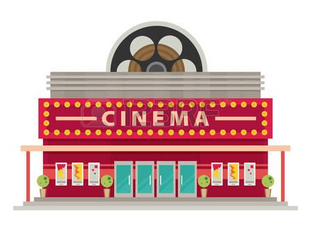 1233 Cinema free clipart.