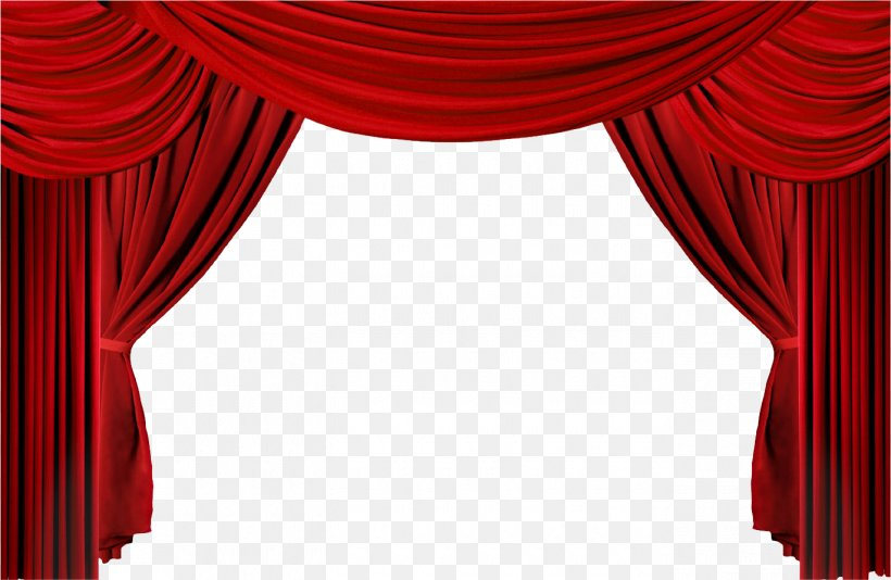 Window Theater Drapes And Stage Curtains Clip Art, PNG.
