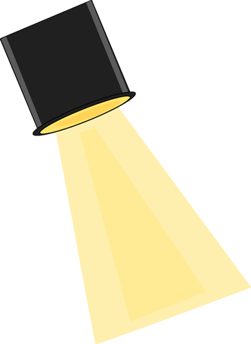 Theater Lights Clipart.