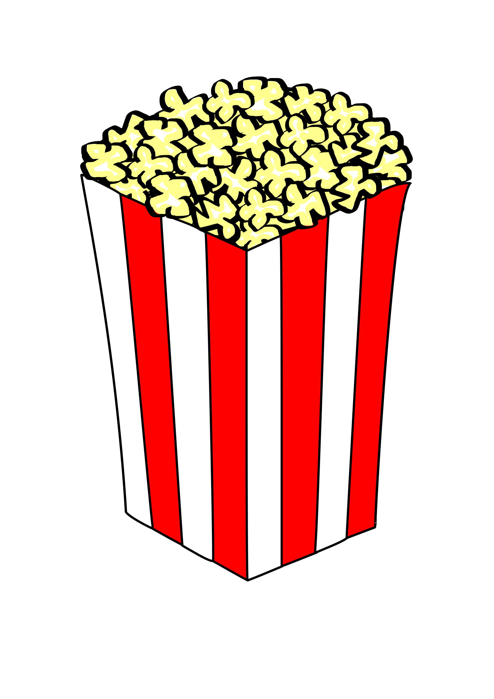 Movie theater popcorn clipart clipart images gallery for.
