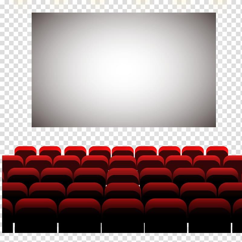 Theater stadium, Cinema Auditorium Seat, The big screen.