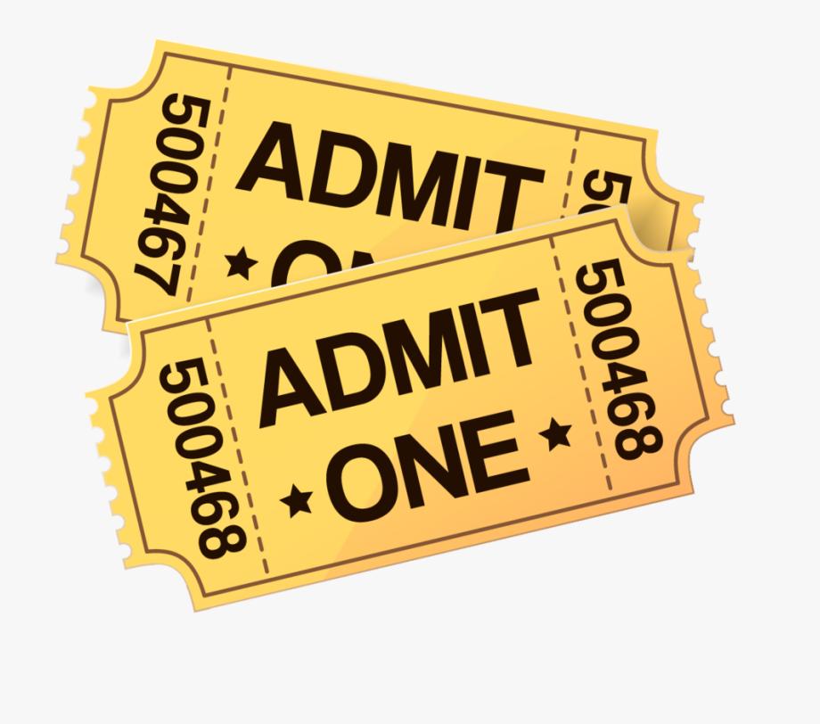 Cinema Ticket Film Clip Art.