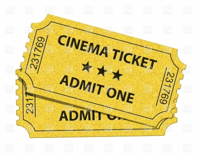 movie ticket clip art , Free clipart download.