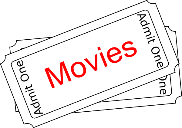 Free Movie Tickets Clipart, Download Free Clip Art, Free.