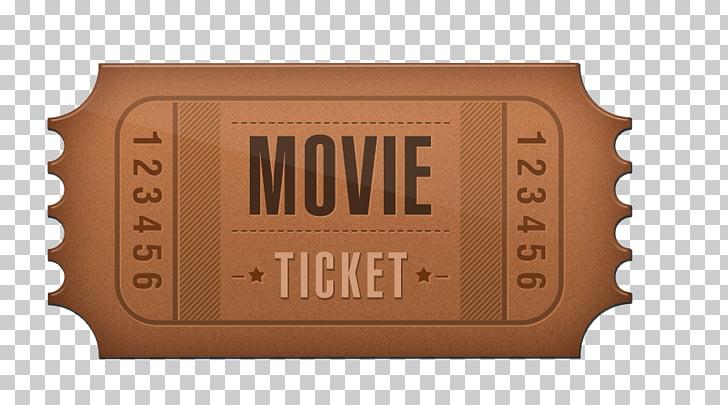 Ticket Cinema Film, Free movie ticket stub to pull material.