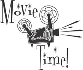 Movie Day Clipart.