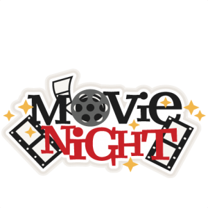 Movie Night Title.