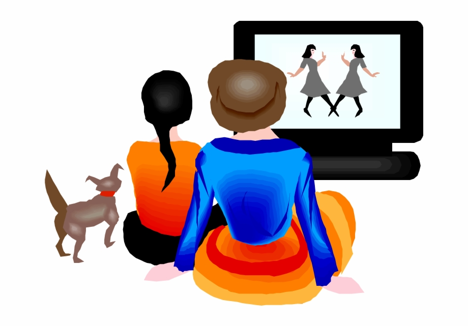 Clipart Of People Watching Tv Clip Art Library.