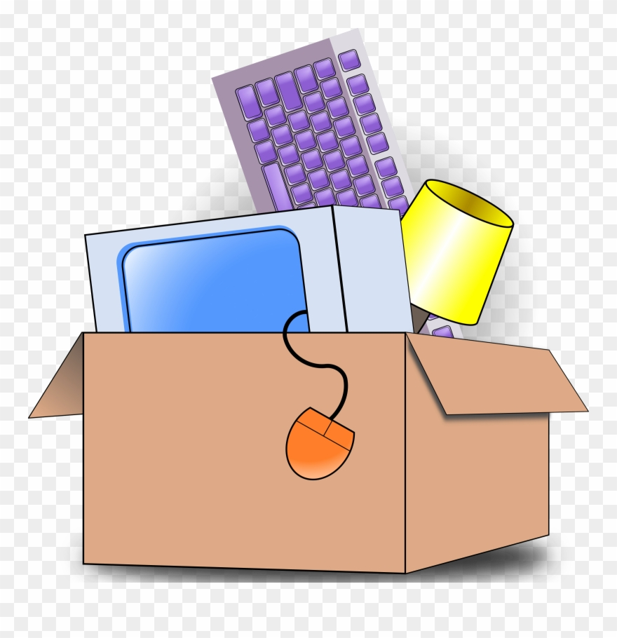 Moving Box Clipart.
