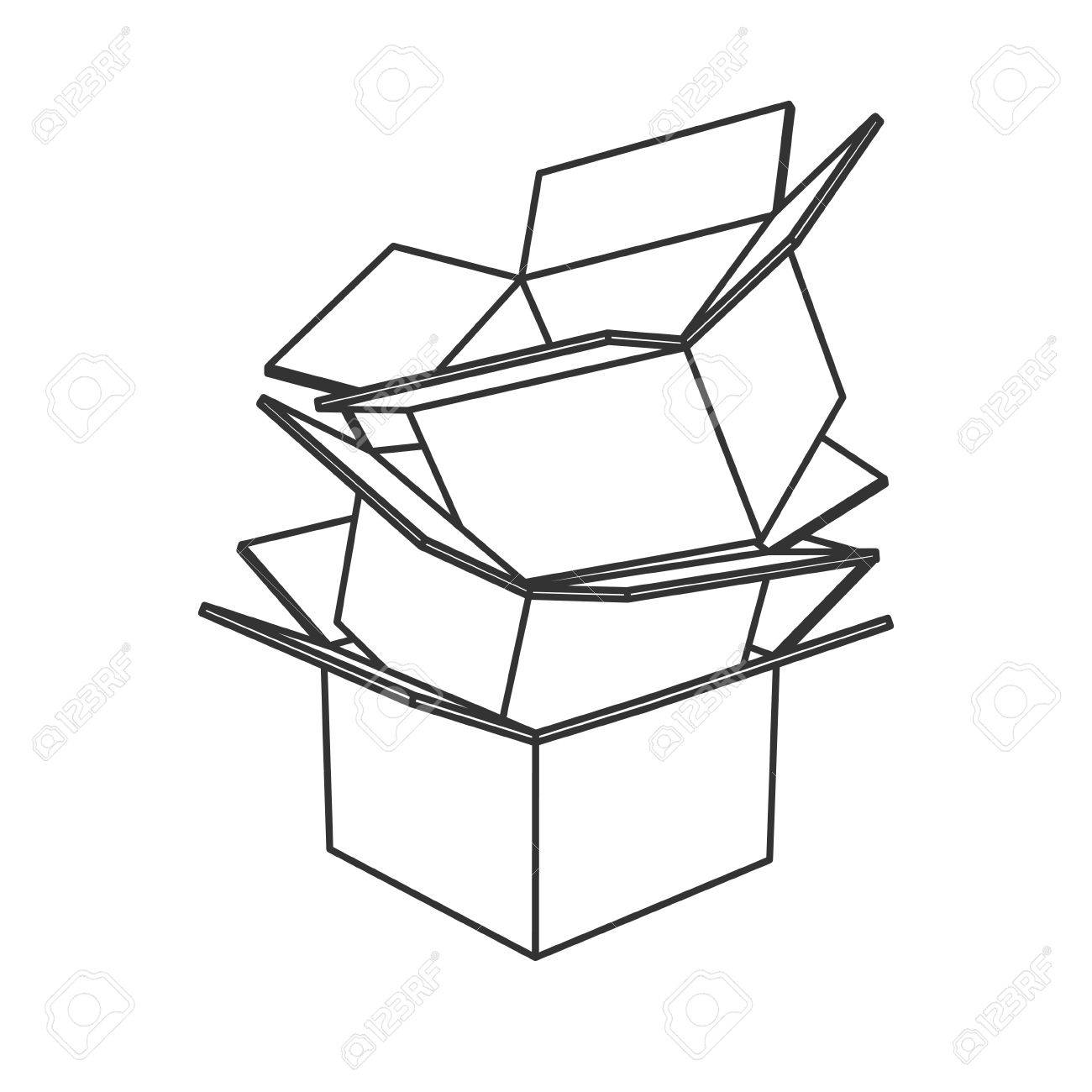 71 Obvious Cardboard Boxes How To Draw.