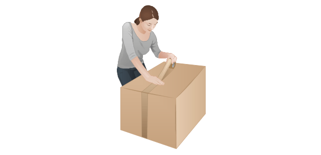 Moving Boxes Clipart Black And White White Box Clip Art.