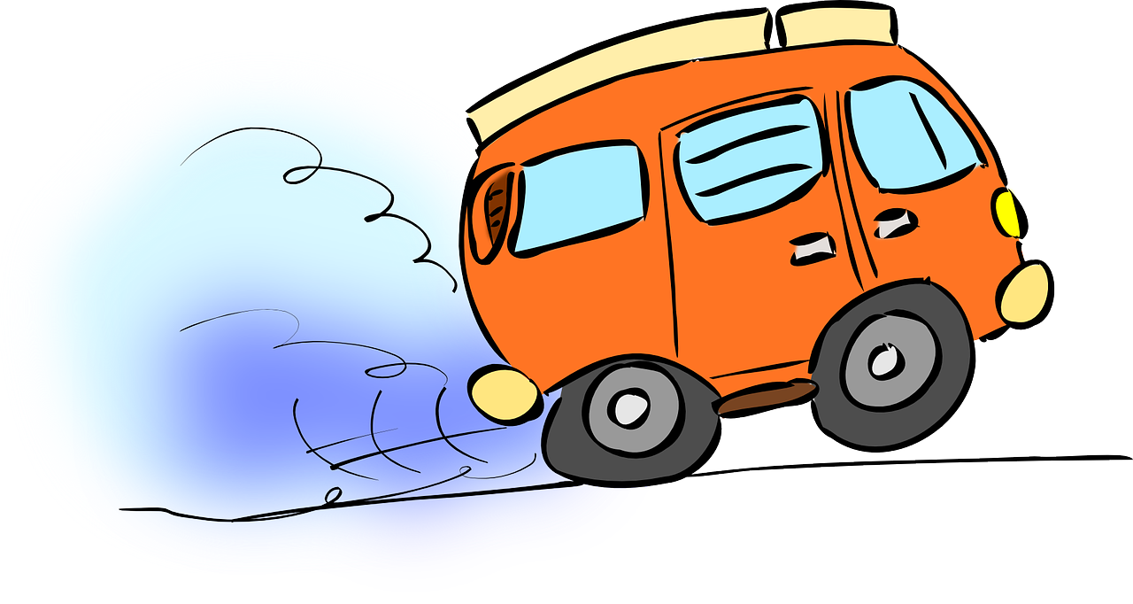 Car Moving Clipart.