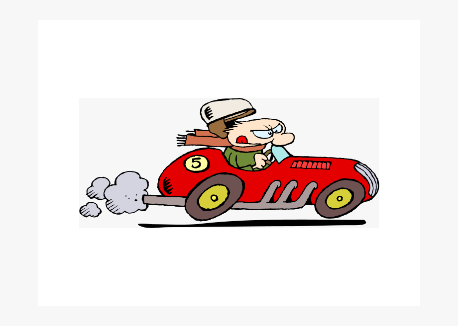 Car Moving Fast Cartoon, Cliparts & Cartoons.
