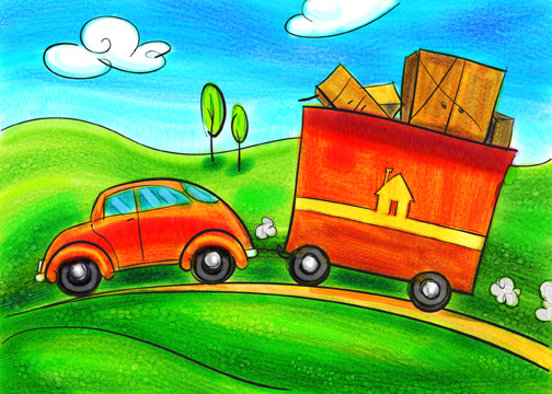 Clip art moving pictures.