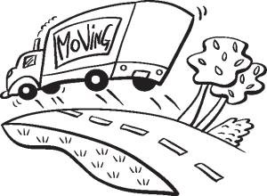 Free moving clipart clipart.