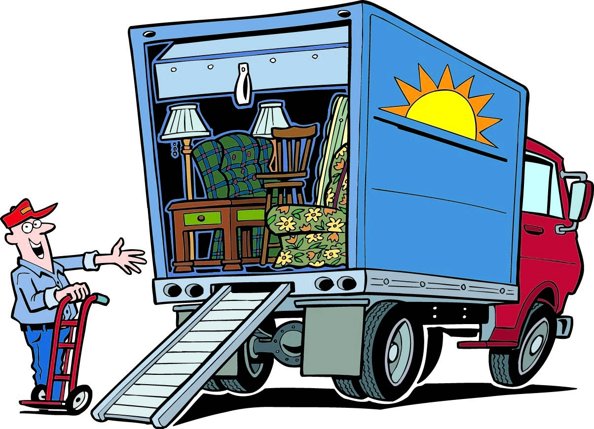 Free Moving Clipart.