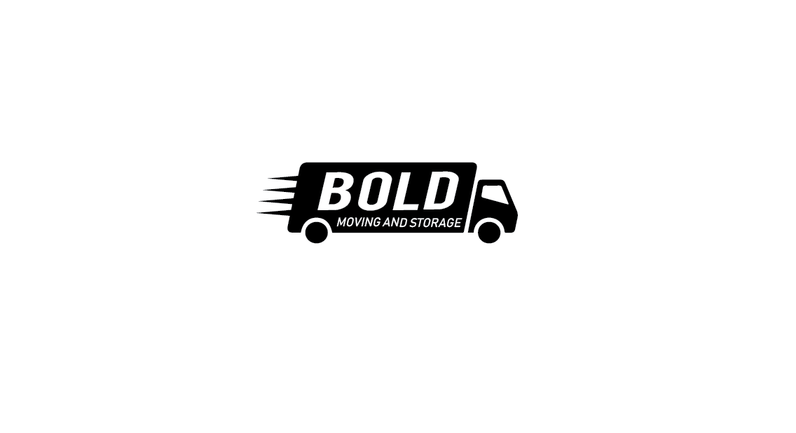 Serious, Bold, Moving Company Logo Design for Bold Moving.