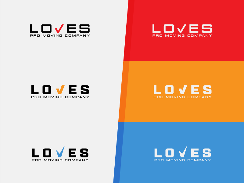 Loves Pro Moving Company Logo by Jacob DeBenedetto on Dribbble.