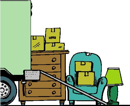 Moving day clipart 4 » Clipart Portal.