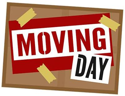 Moving Day Clipart.