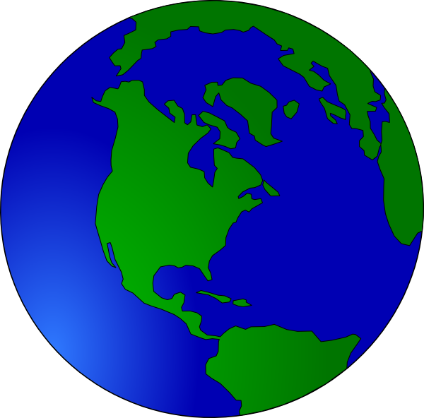 Moving earth live clipart.