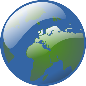 Earth Globe Clip Art at Clker.com.