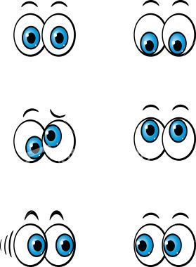 Showing post & media for Cartoon blinking moving eyes.