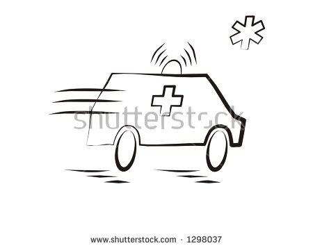 Ambulance Moving Stock Images, Royalty.