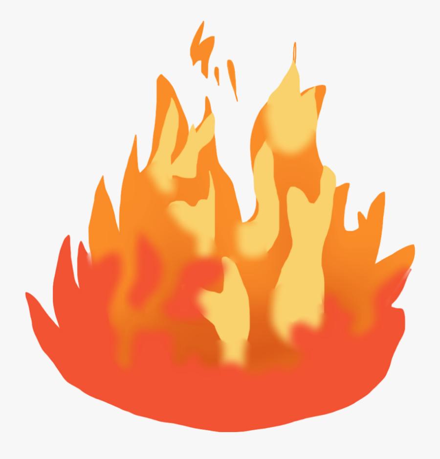 Clipart Fire Bushfire.
