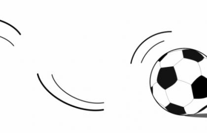 Soccer Ball Motion Clip Art.