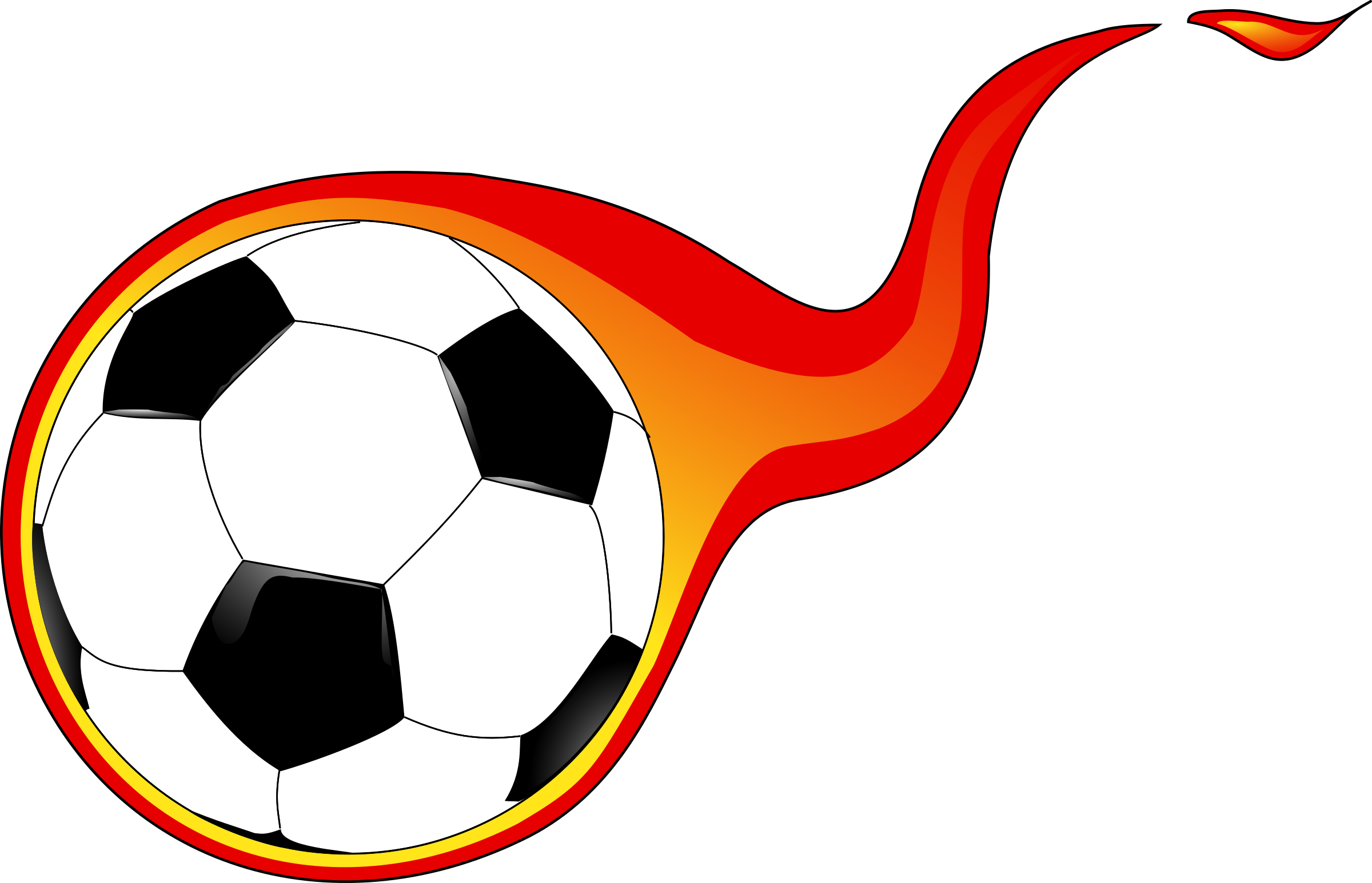 9108 Soccer free clipart.