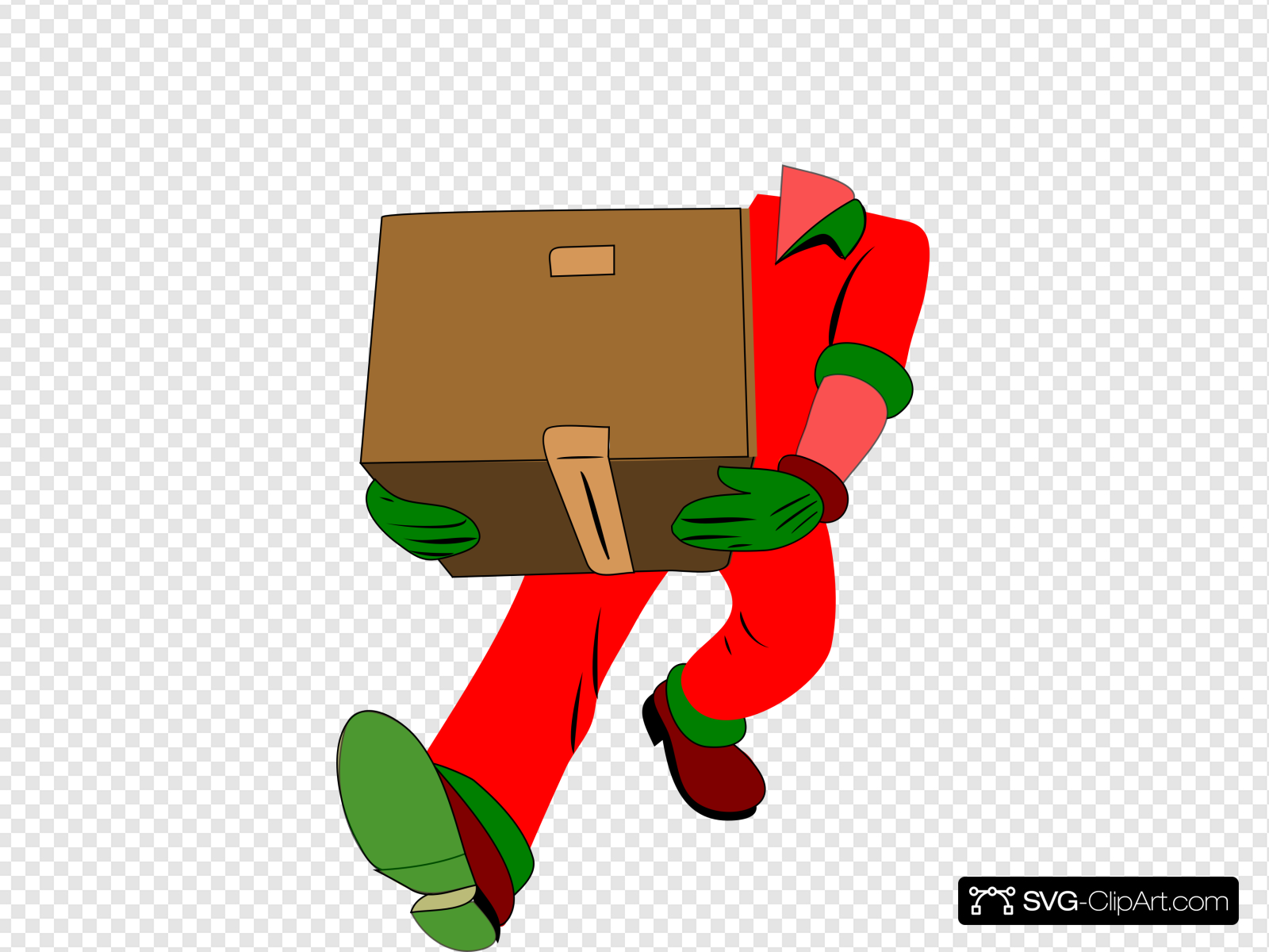Moving Man Without Head Clip art, Icon and SVG.