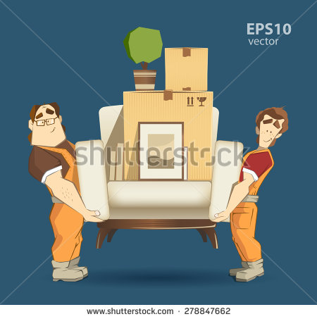 Moving Company Stock Photos, Royalty.