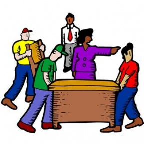 Moving Office Clipart