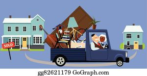 Moving House Clip Art.