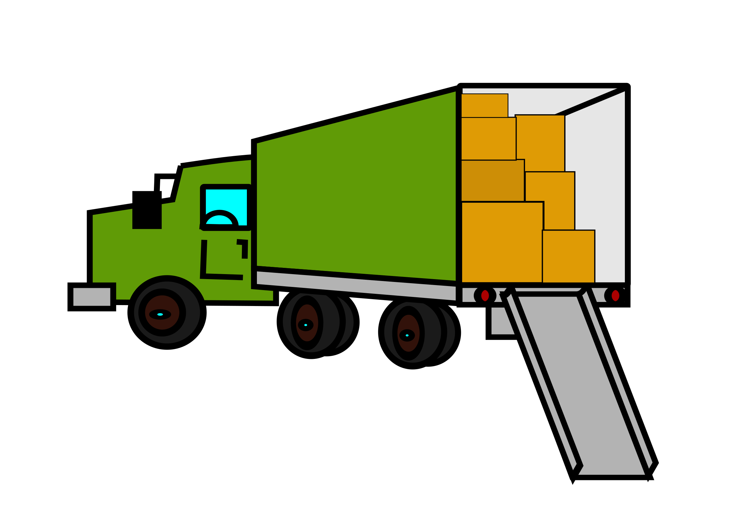 76+ Moving Truck Clipart.