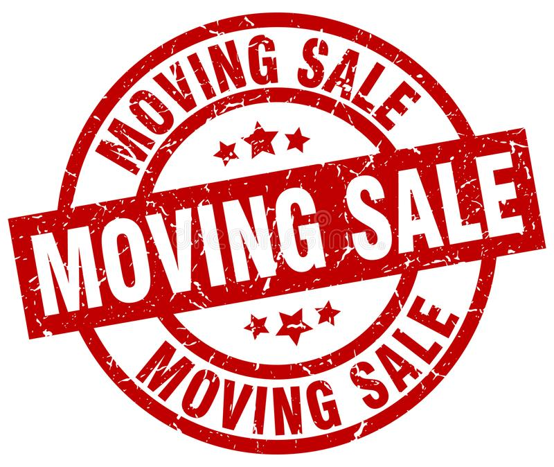 Moving Sale Stock Illustrations.