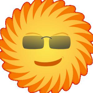 Mr Sun Clip Art at Clker.com.