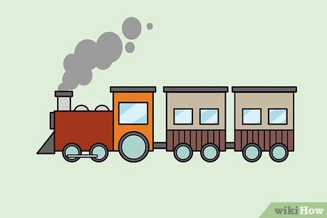 4 Ways to Draw a Train.