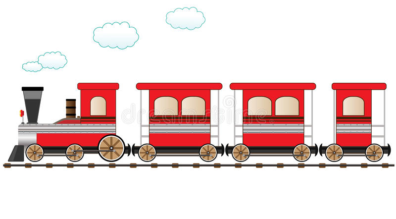 Moving Train Clipart.
