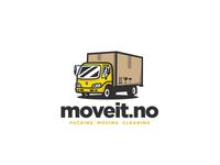 Moving company logo by Mersad Comaga on Dribbble.