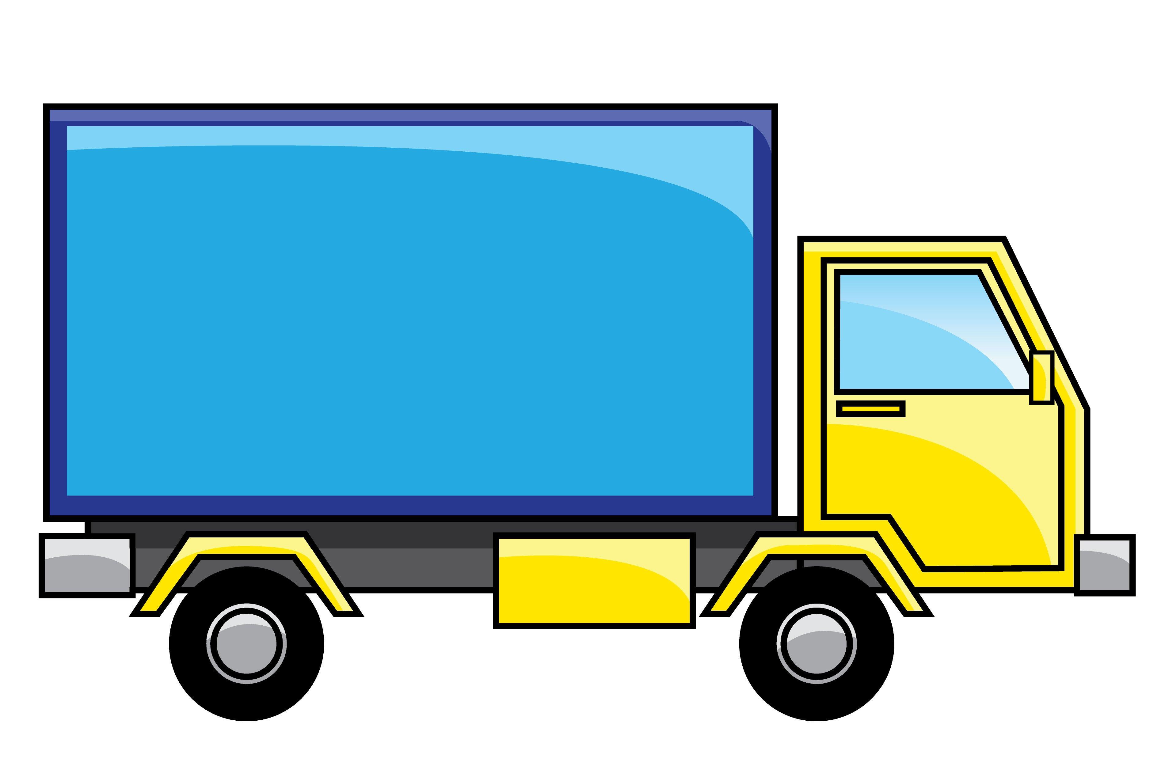 Free moving van clipart 7 » Clipart Portal.