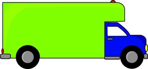 Free Moving Truck Clipart Image 0515.