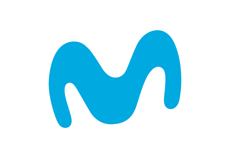 Movistar logo.