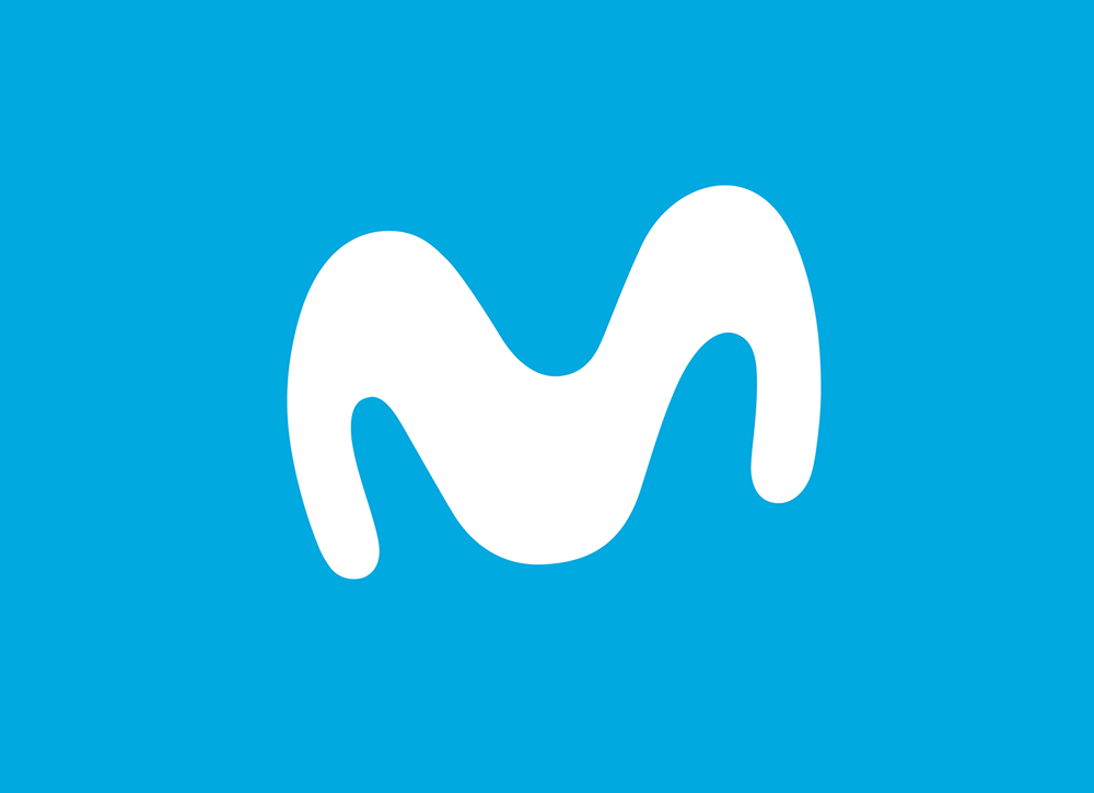 New Logo and Identity for Movistar by Lambie.