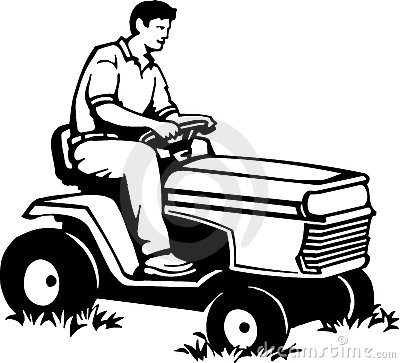 Lawn Mower Clip Art Free Vector.